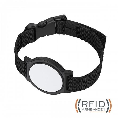 RFID Armband Nylon oogsplits sluiting 1