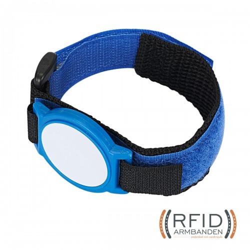 RFID Armband klittenband (lang) 1